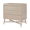 DwellStudio Mid Century 3 Drawer Dresser in French Grey