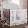 Silva Serena Convertible Crib in White