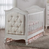 Pali Diamante Collection 2 Piece Nursery Set-Classic Crib and Double Dresser