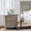 Oxford Baby Kenilworth Collection 2 Drawer Nightstand in Stone Wash