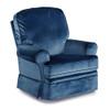 Best Chairs Dakota Recliner in Navy