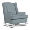 Best Chairs Willow Swivel Glider in Ultramarine
