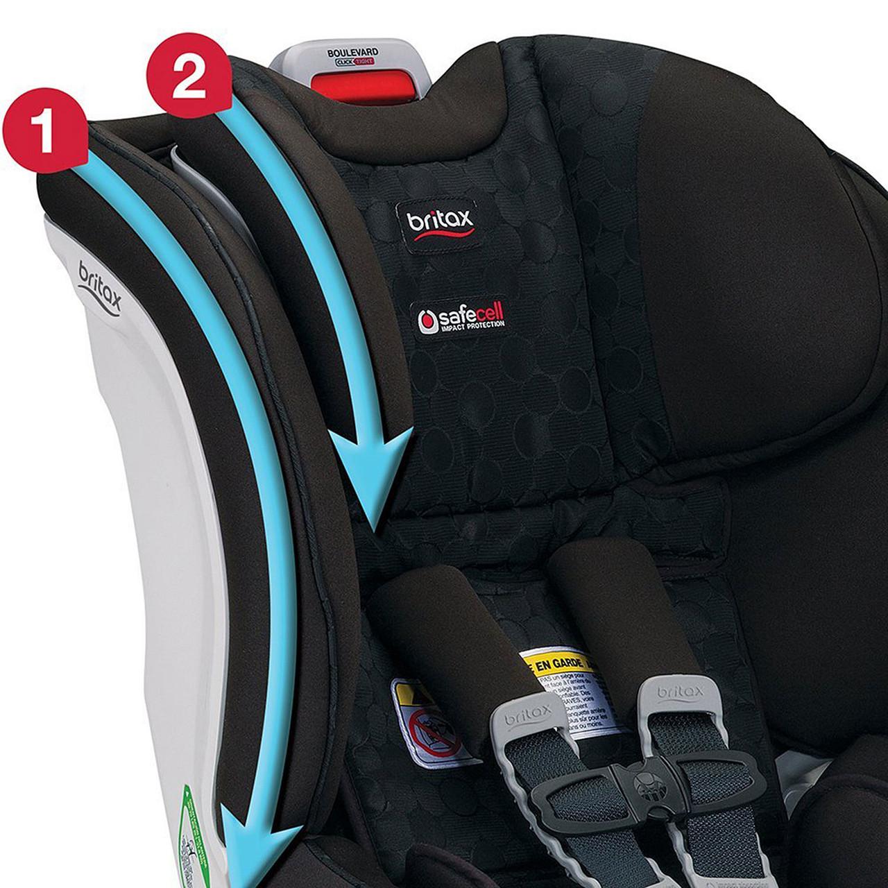 Baby Car Seats Trek Britax Boulevard ClickTight Convertible Car ...