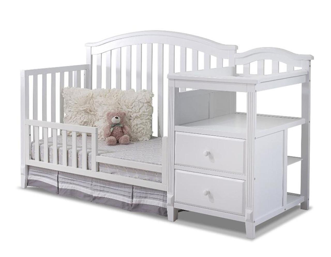 Sorelle Berkley 4 In 1 Crib N Changer In White Bambi Baby Store