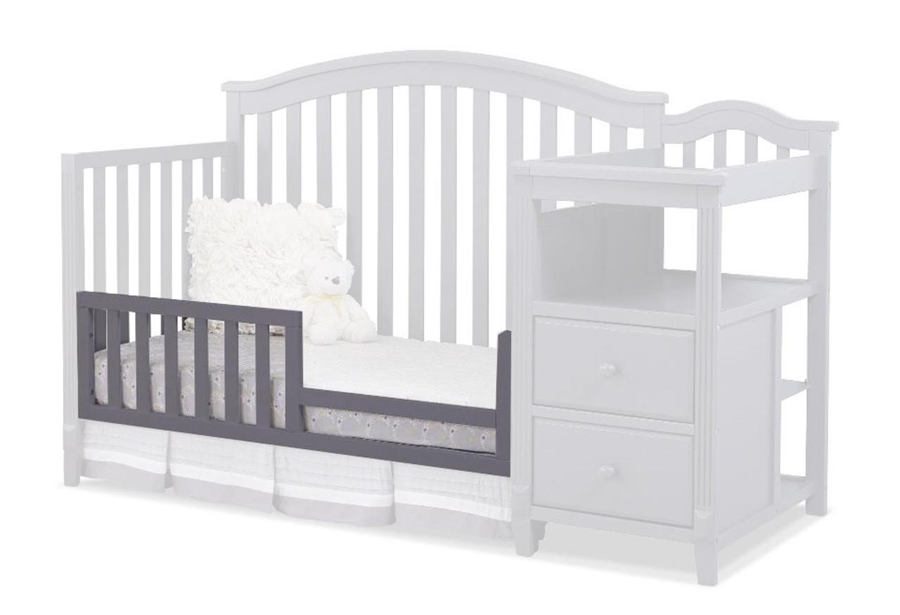 Sorelle Berkley Toddler Rail In Gray For The 3350 335 500 Cribs Bambi Baby Store