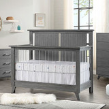 Oxford Baby Holland Collection in Cloud Gray