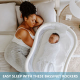 Easy sleep with these Bassinet Rockers!