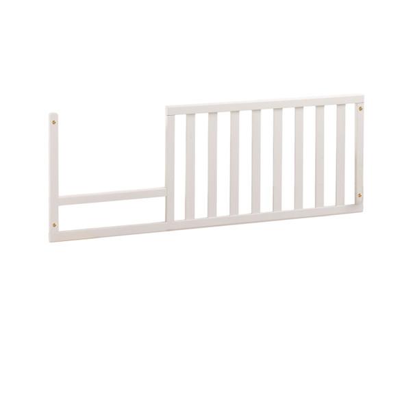 Natart Allegra Collection Toddler Rail in French White