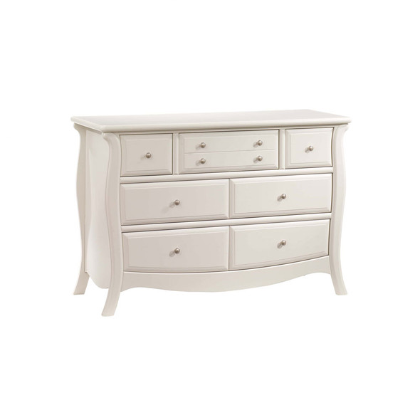 Natart Bella Collection Double Dresser in Linen