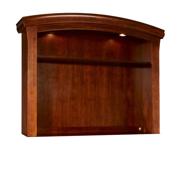 Westwood Stratton Collection Combo Hutch in Virginia Cherry