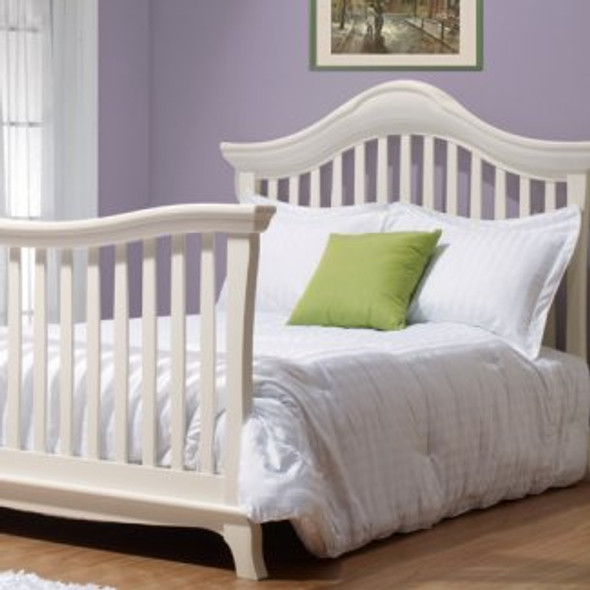 Sorelle Napa Collection Full Size Bed Rails in French White