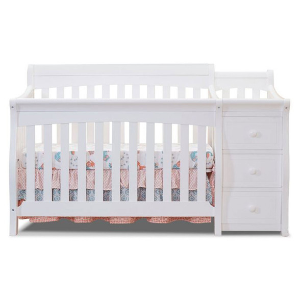 Sorelle Princeton Elite Crib & Changer in White