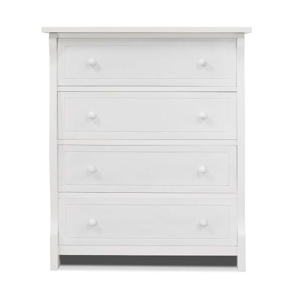Sorelle Princeton Elite Collection 4 Drawer in White