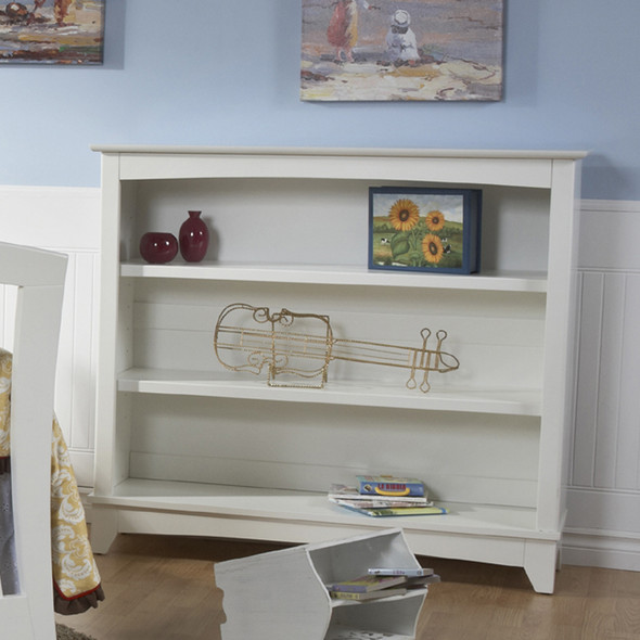 Pali Universal Bookcase/Hutch in White