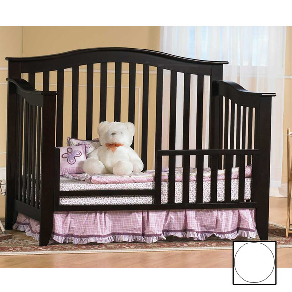 Pali Salerno Collection Toddler Rail in White