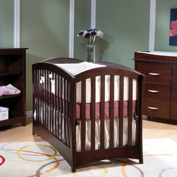 Pali Trieste Collection La Spezia Forever Crib in Mocacchino