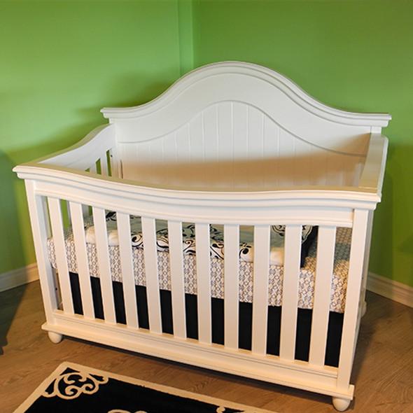 Pali Marina Forever Crib in White