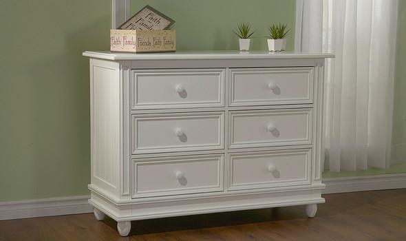 Pali Marina Double Dresser in White