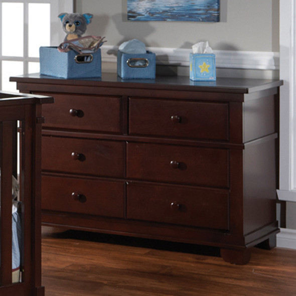 Pali Lucca Collection Double Dresser in Mocacchino