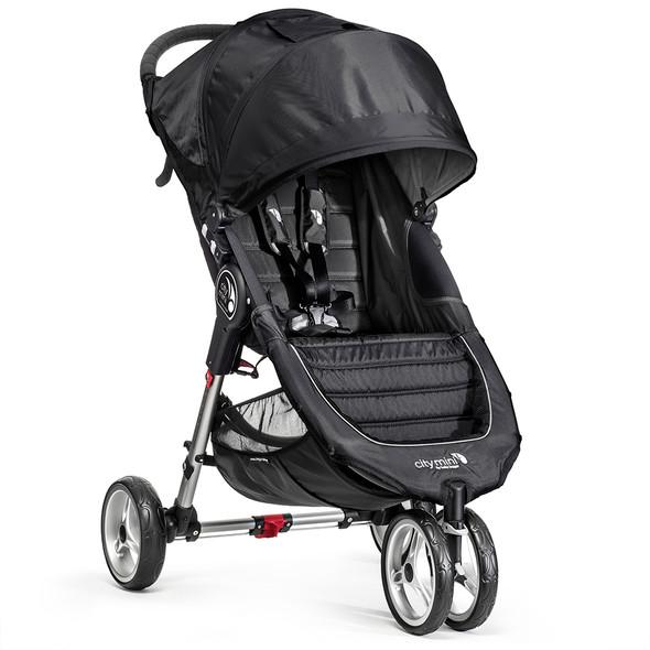 Baby Jogger City Mini Stroller in Black/Grey