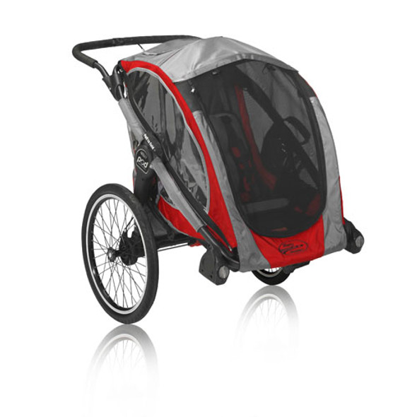 Baby Jogger POD Chassis in Crimson