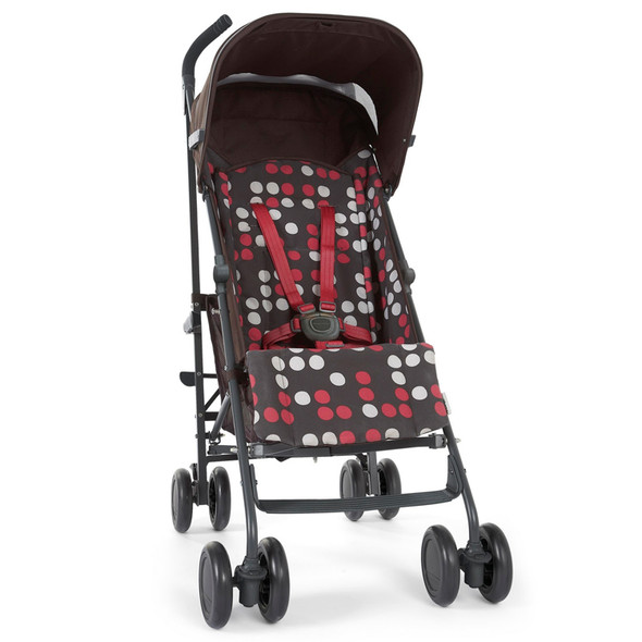 Mamas & Papas Tour Lightweight Stroller in Cherry Dot