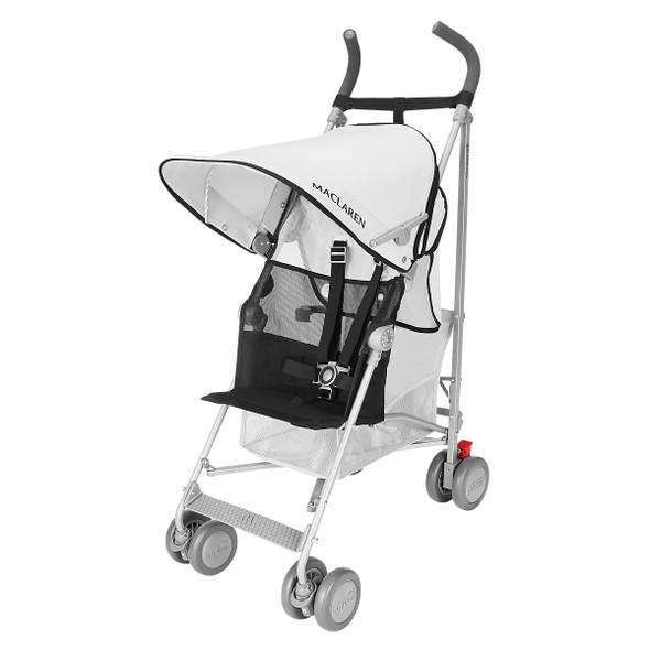 Maclaren Volo Stroller in Silver/Black
