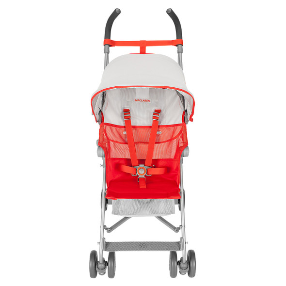 Maclaren Volo Stroller in Silver/Marmalade