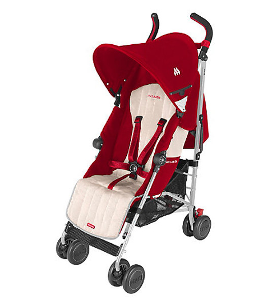 Maclaren Quest Sport Stroller in Scarlet and Wheat
