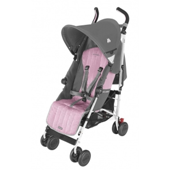 Maclaren Quest Sport Stroller in Dove and Orchid Smoke