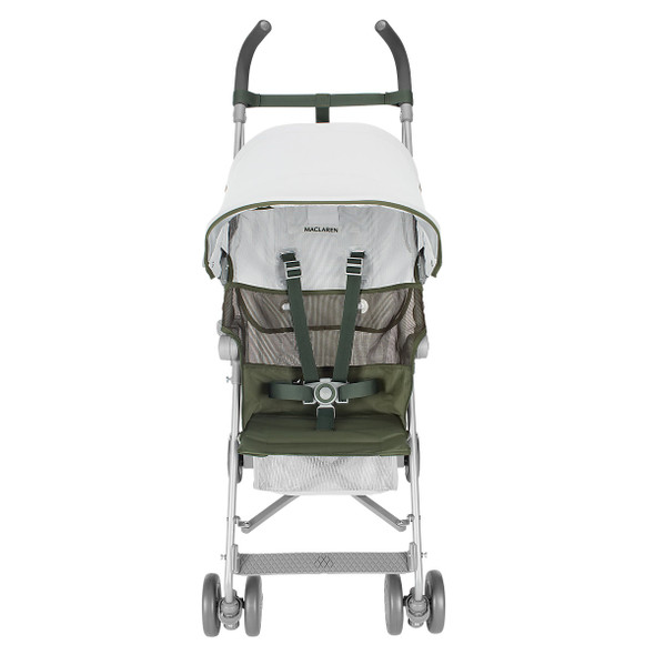 Maclaren Volo Stroller in Silver/Highland Green