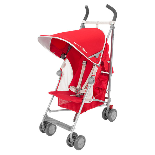 Maclaren Globetrotter Stroller in Cardinal/White