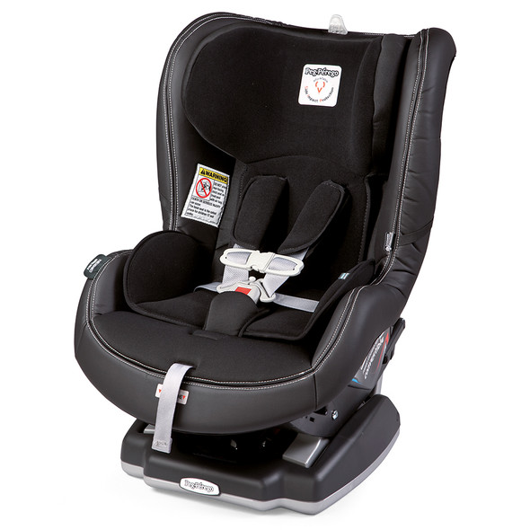 Peg Perego Primo Viaggio Convertible in Licorice - Black Leather