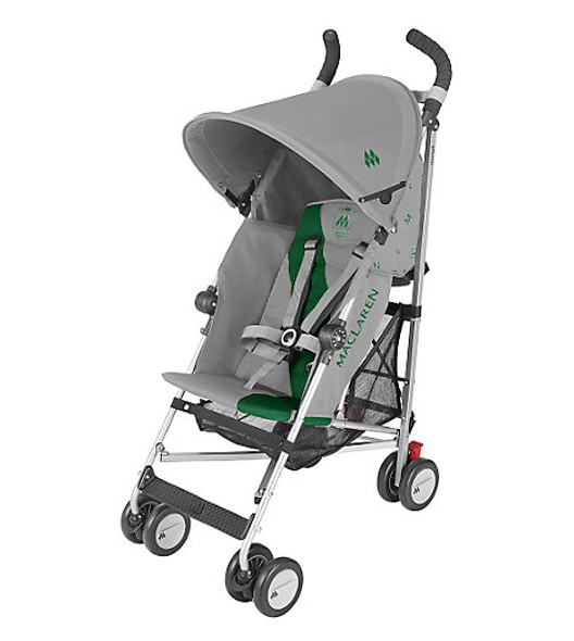 Maclaren Triumph Stroller in Dove and Jelly Bean