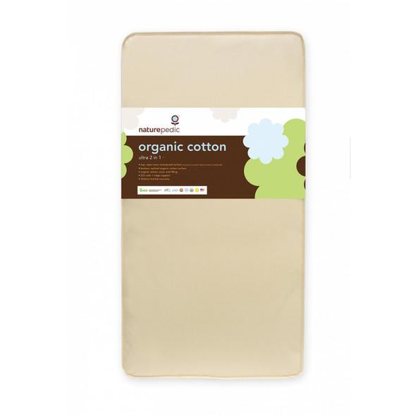 Naturepedic 2 in 1 Organic Cotton Ultra 252 Mattress