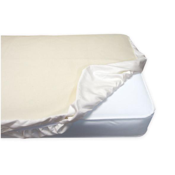 Naturepedic - Organic Cotton Flannel Pad - Crib Fitted