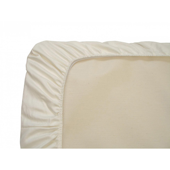 Naturepedic - Organic Cotton Flannel Pad - Crib Fitted