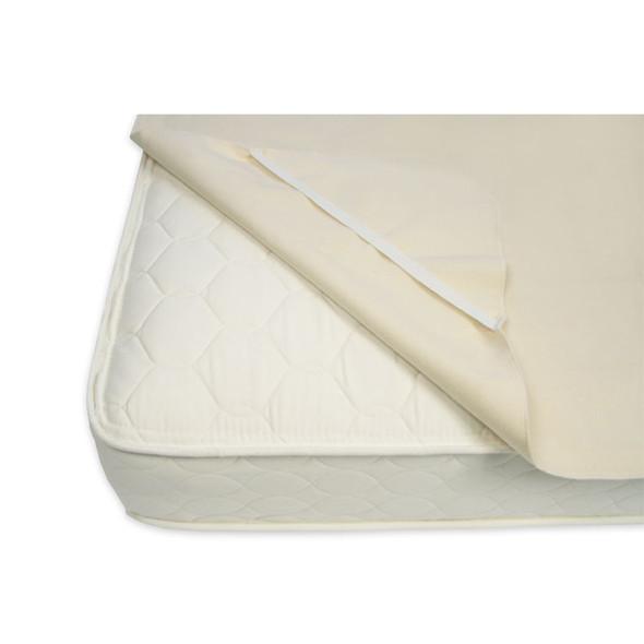 Naturepedic - Organic Waterproof Mattress Pad - Full w/ Straps (53 x 75)
