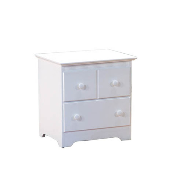 Atlantic Windsor Night Stand in White-1
