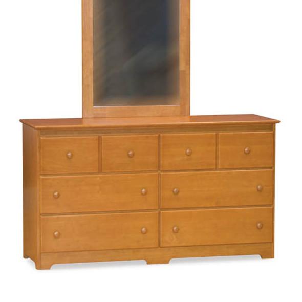Atlantic Windsor Six Drawer Dresser in Caramel Latte-1