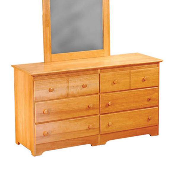 Atlantic Windsor Six Drawer Dresser in Natural Maple-1