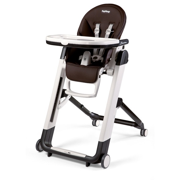 Peg Perego Siesta Highchair in Cacao - Chocolate-brown