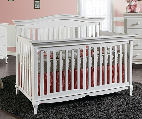 Pali Mantova Collection Forever Crib in White