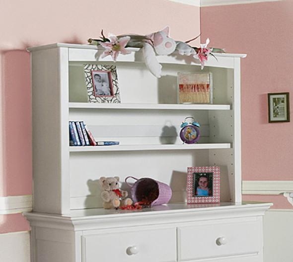 Pali Mantova Collection Bookcase Hutch in White