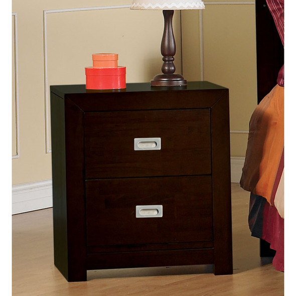 Pali Novara Collection Nightstand in Mocacchino