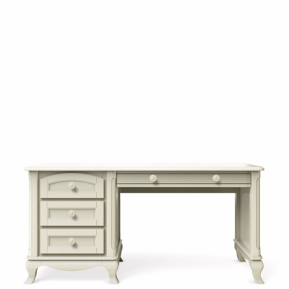 Romina Cleopatra Collection Desk in Bianco Satinato