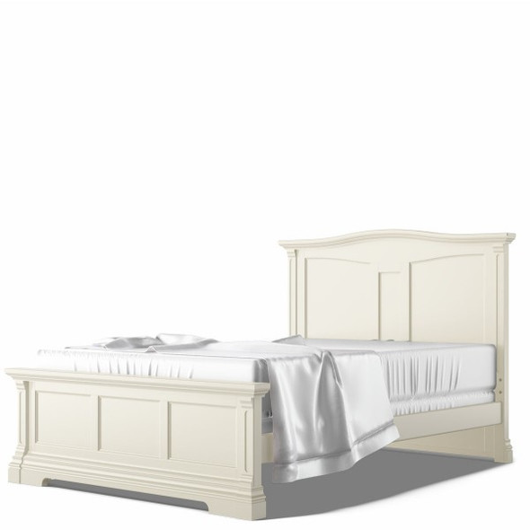 Romina Imperio Collection Twin Bed in Bianco Satinato