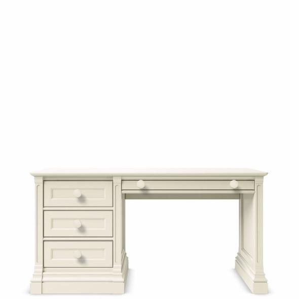 Romina Imperio Collection Desk in Bianco Satinato