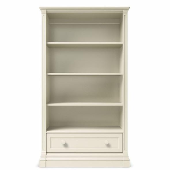 Romina Imperio Collection Bookcase in Bianco Satinato