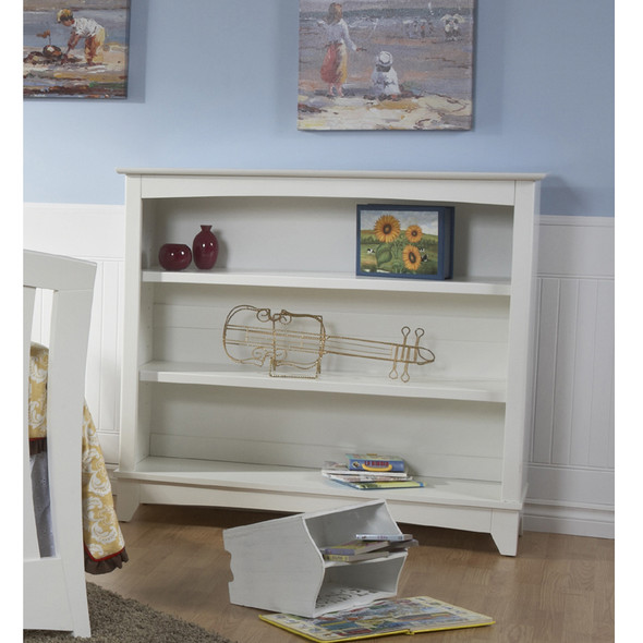 Pali Trieste Collection Bookcase Hutch in White